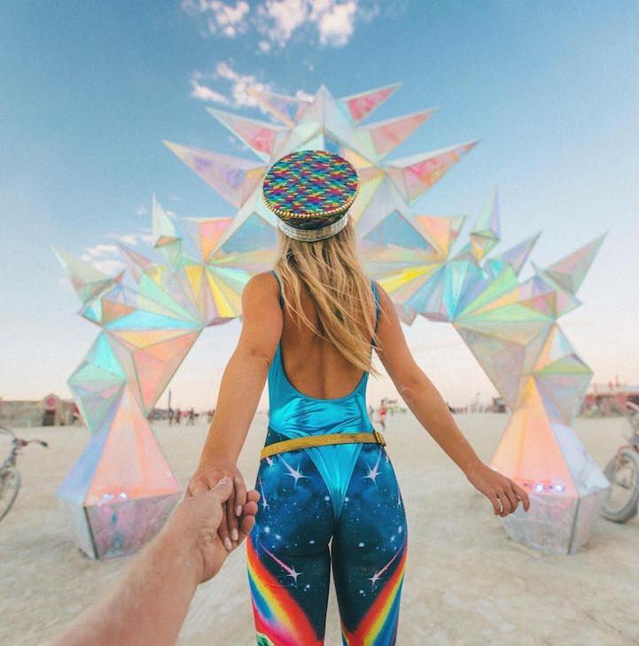 27 Photos Capturing Burning Man 2016's Creative and Carefree Culture - My Modern…
