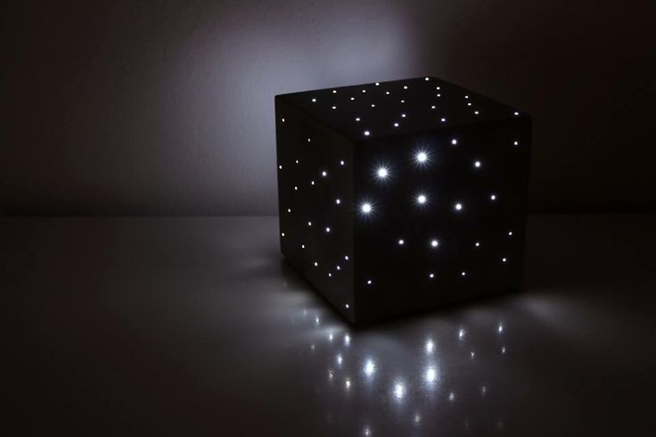Concrete optical cube