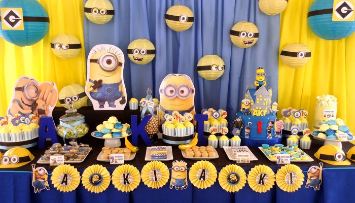 Despicable Me Minions Party ideas and Decorations