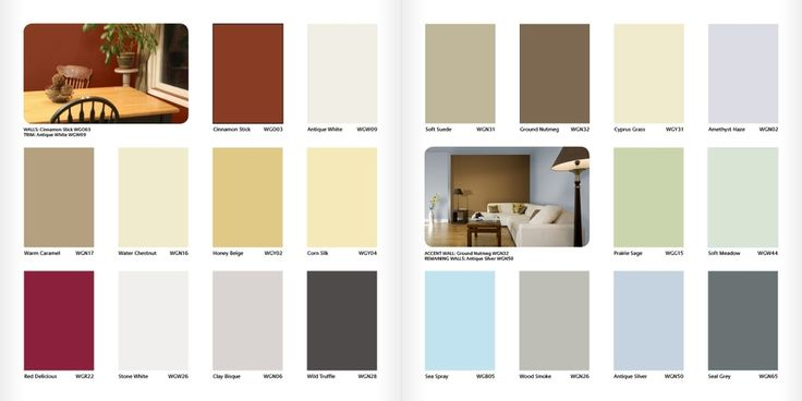home improvement paint color chart paint color codes on sample color schemes for interiors id=79541