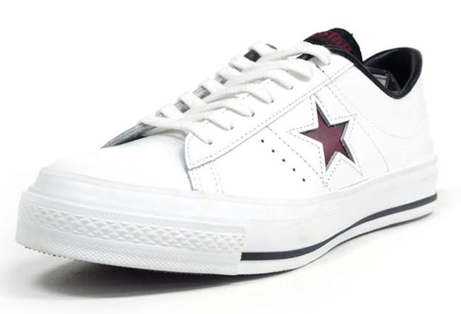 Made in Japan: Converse One Star | White & Burgundy