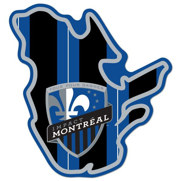 """Montreal Impact 3"""" x 4"""" State Decal - $5.99"""
