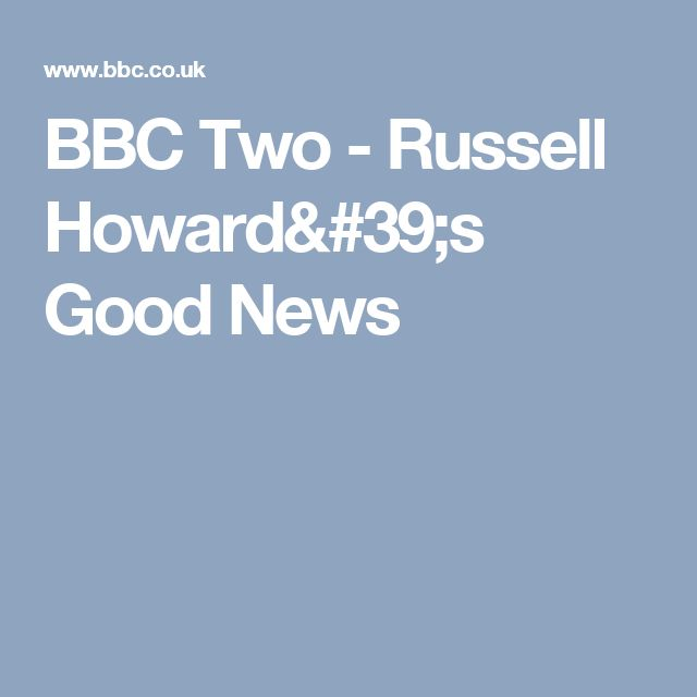 BBC Two - Russell Howard's Good News