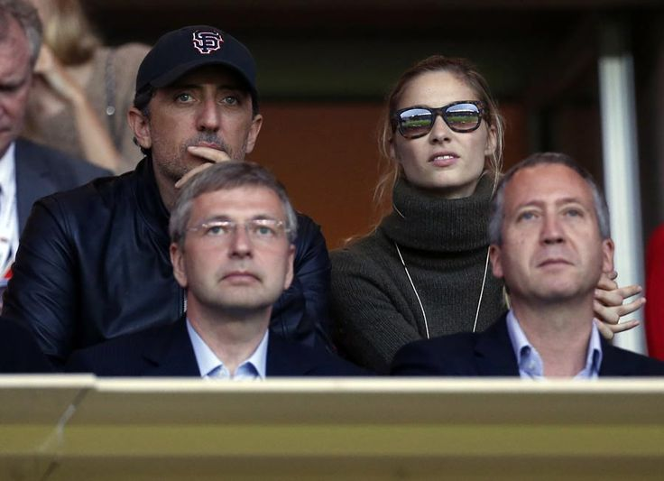 Father-to-be Gad Elmaleh watches football with Charlotte Casiraghi's brother - Photo 2 | Celebrity news in hellomagazine.com