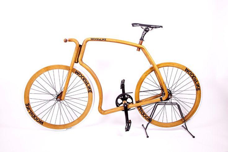 Viks WOODaLIKE sur TheArsenale For SPOOTNIK. Viks - Vélo fait à la main idéal pour citadains et banlieusards. Cette bicyclette fait tourner toutes les têtes partout où vous allez, même lorsqu'elle ...
