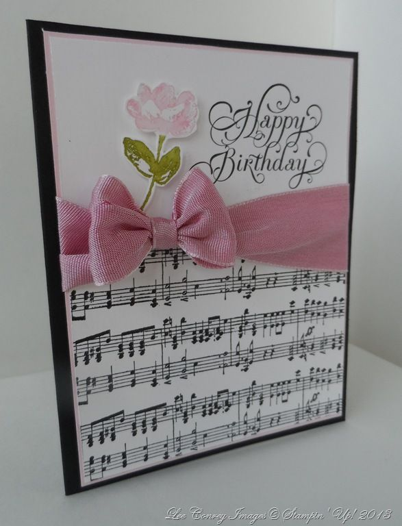 Music And Roses Club Card Use Hb Sheet
