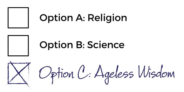 Religion or science? Is there a bigger picture when it comes to evolution?   #science #religion #evolution #agelesswisdom #UnimedLiving