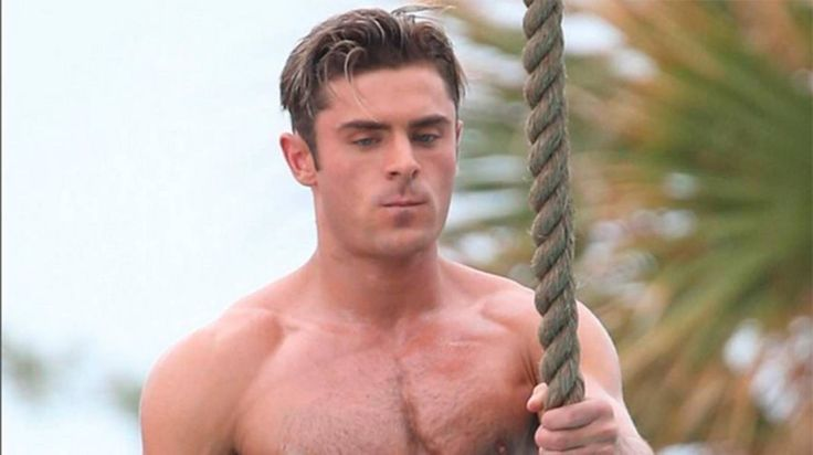 Folks think Zac Efron's Baywatch diet included roids. Looks like strict PALEO to me; Grazia