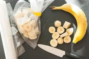 Nicecream Rezepte mit gefrorenen Bananen