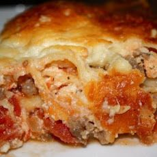 Low carb Italian Sausage bake