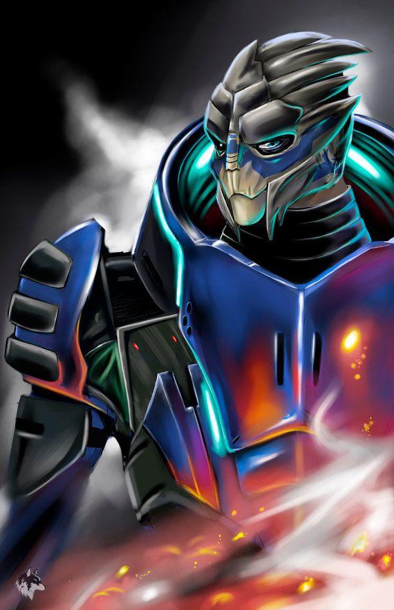 Garrus-Mass Effect