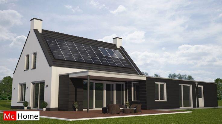 mc-home.nl K47 energieneutrale klassieke woning gelijkvloers wonen staalframebouw
