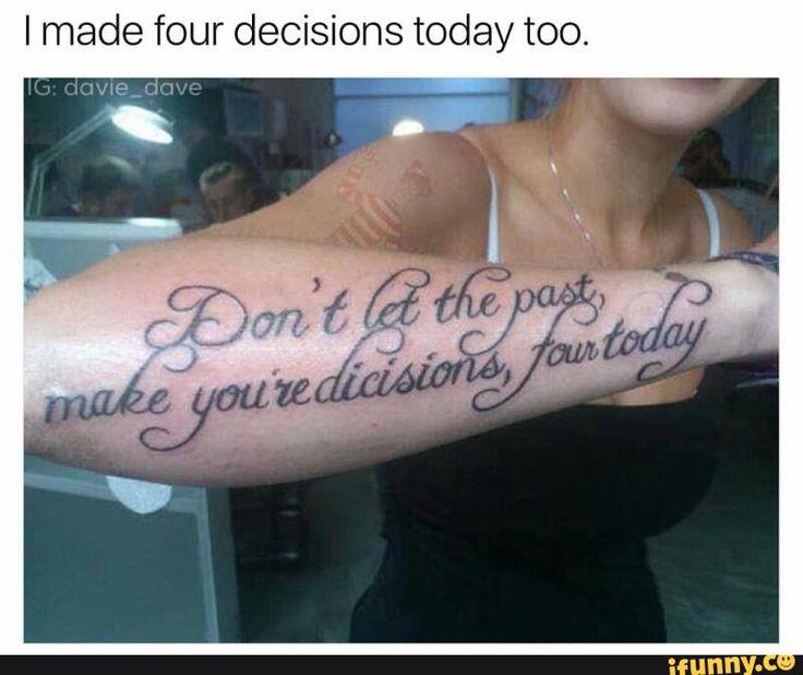 tattoo, mistakes, error
