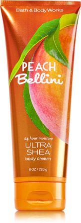 Peach Bellini Ultra Shea Body Cream - Signature Collection - Bath & Body Works