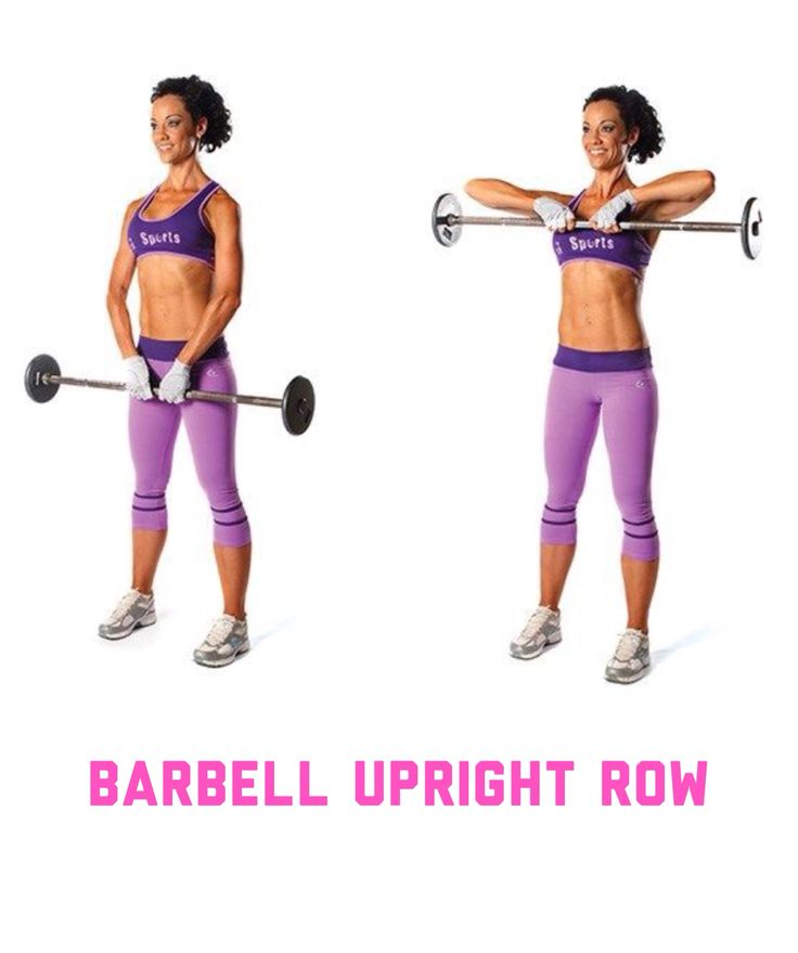 The 25+ Best Ideas About Upright Barbell Row On Pinterest