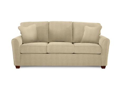 sleeper sofa la z boy kiefer in parchment covering office guest room inspiration. Black Bedroom Furniture Sets. Home Design Ideas