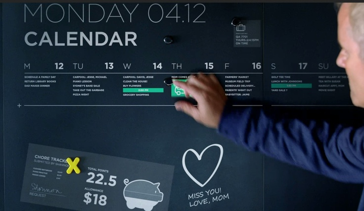 Love the idea of pinning on the calendar