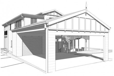 25 best ideas about house extension plans on pinterest for Garage extension plans