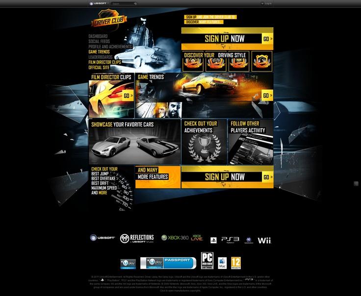 Webdesign Car Service/ Car racing