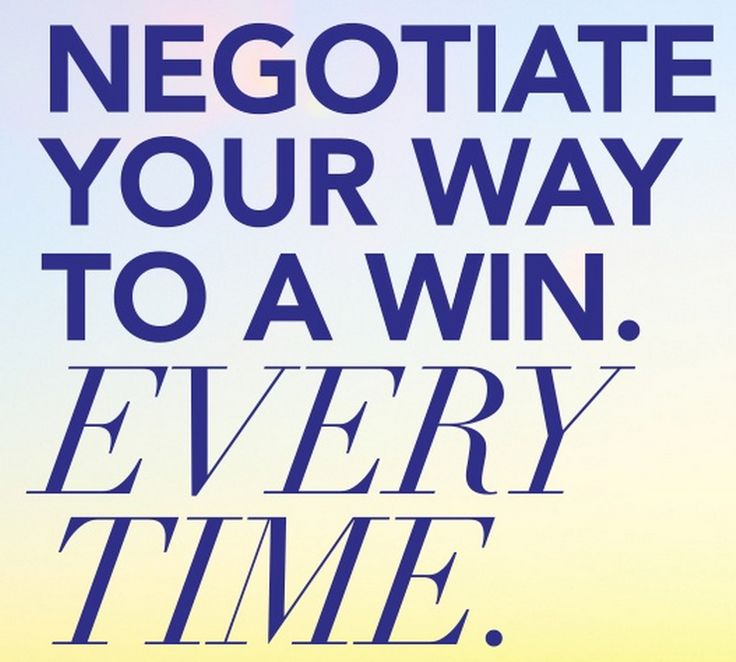 5 Tips To Guarantee Productive Negotiation