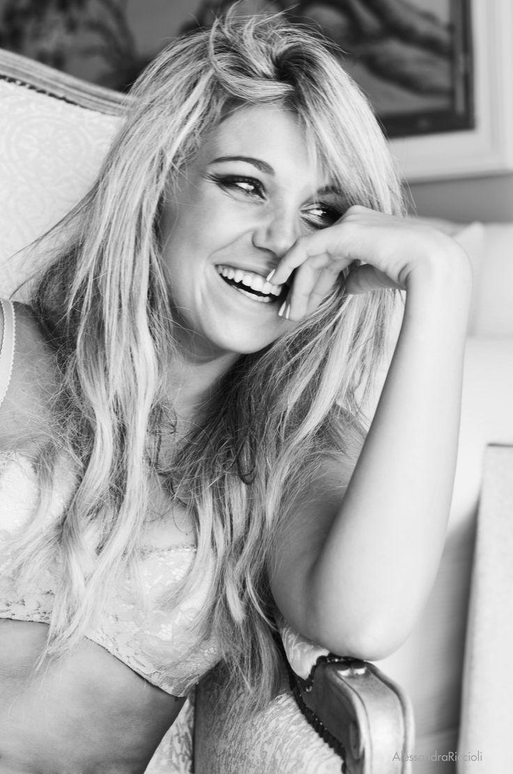 www.behance.net/alericcioli #girl #portrait #fashion #lingerie #long #hair #smile #happy #happiness #pretty #alericcioli