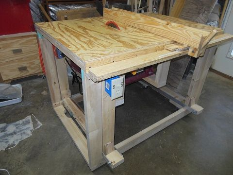 DIY Table saw: Part 3 - YouTube