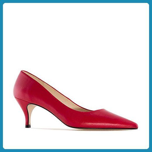 Damenschuh aus rotem Nappaleder - Damen pumps (*Partner-Link)