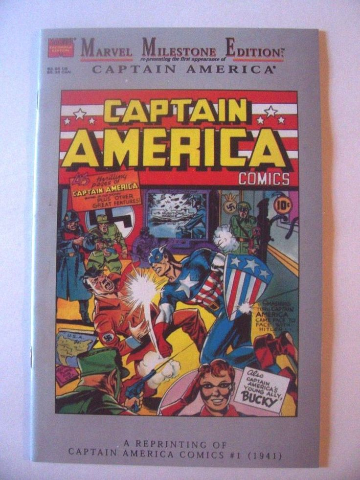 Captain America Comics #1 VF 1995 Marvel Milestone Edition 1st Appearance Movie