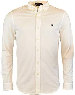 b272339e3 Polo Ralph Lauren Men s Long Sleeve Featherweight Mesh Button Front Shirt