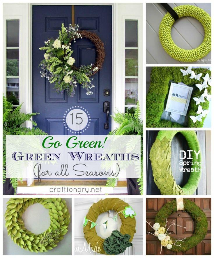 15 Green wreaths