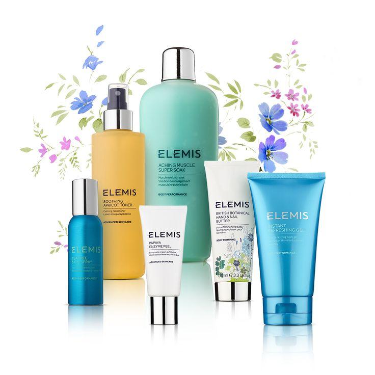Cosmeticele Elemis înseamnă: natură + știință + aromaterapie.
