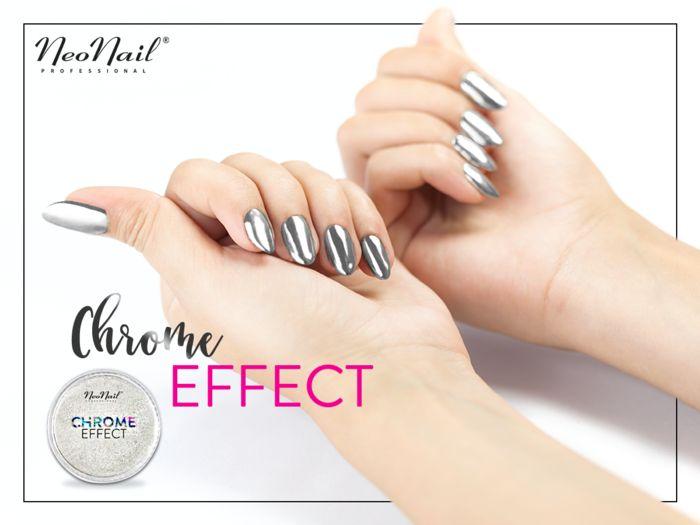 Puder Chrome Effect – Silver - Chrome Effect - NeoNail