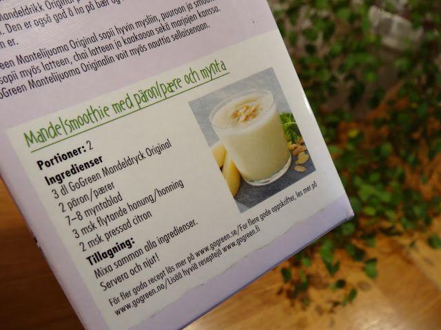 GoGreen Hasselnöt- och risdryck ger inspiration till fler hälsosamma drycker på förpackningen