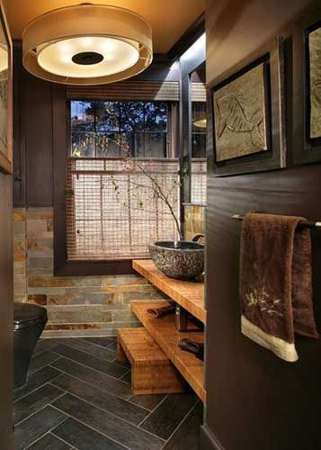 269 best images about dream home on pinterest hallway for Cool master bathrooms