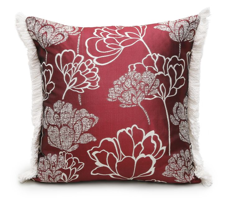 Opulence Red Scatter Cushion.