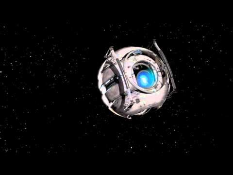 Portal 2 Wheatley Apologizes While Stuck in Space .....sssoo sad