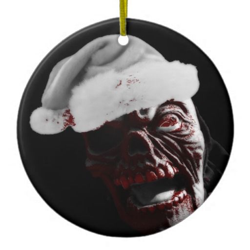 30 best Zombie Christmas Tree Ornaments and Decorations images on ...
