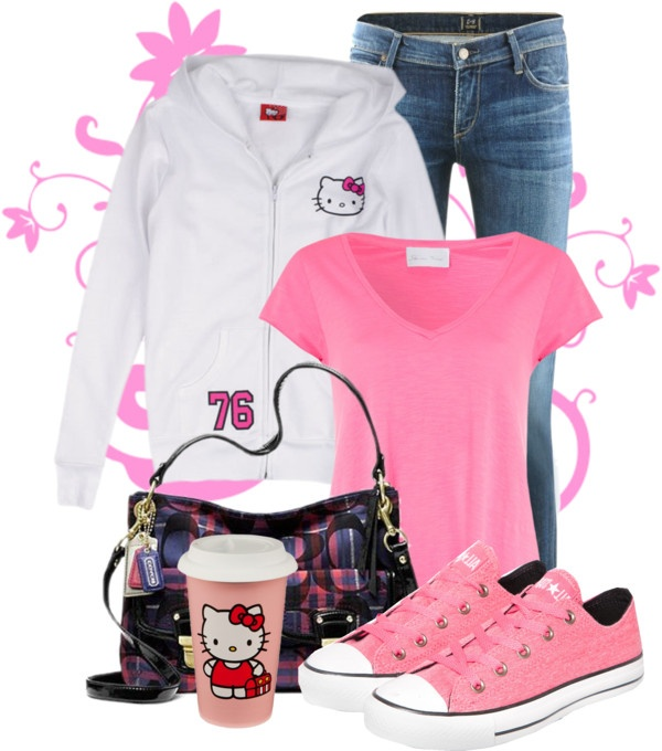 from Darren hello kitty outfits for women