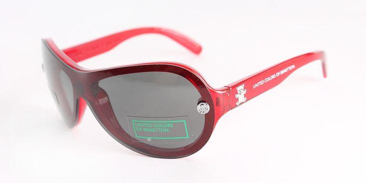#Dziecięce okulary przeciwsłoneczne marki United Colors of Benetton.
