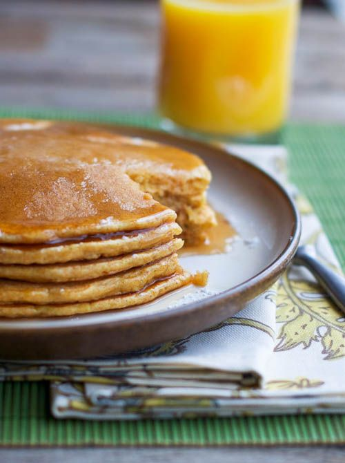 Classic Dinner Pancakes. That's right. Pancakes for dinner.