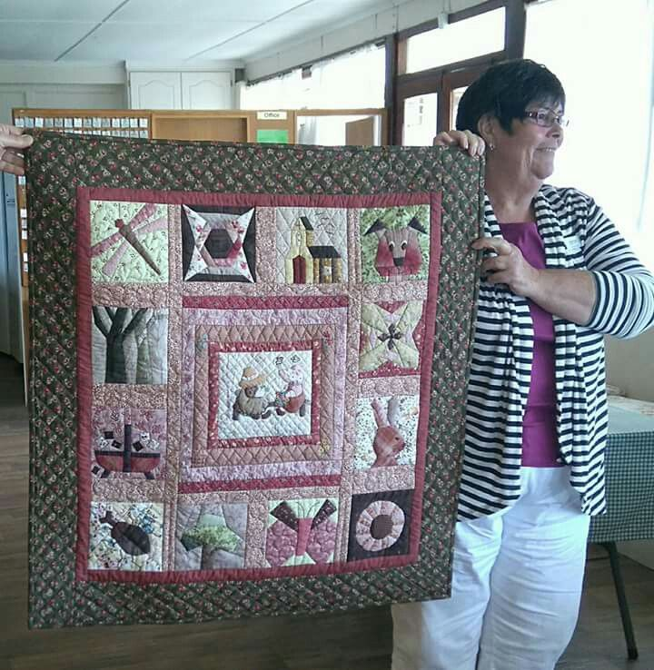 Japanese technique hand quilted.