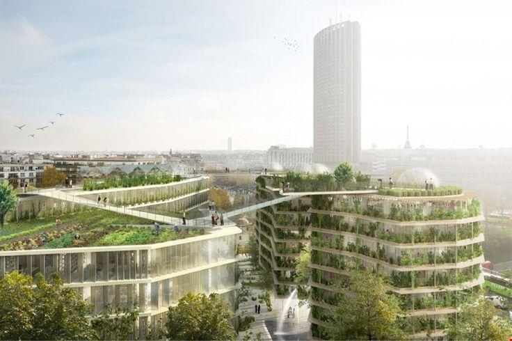 Réinventer Paris, zo heet de prestigieuze architectuurwedstrijd uitgeschreven door de stad Parijs, die als doel heeft het Parijs van morgen in kaart te bre...