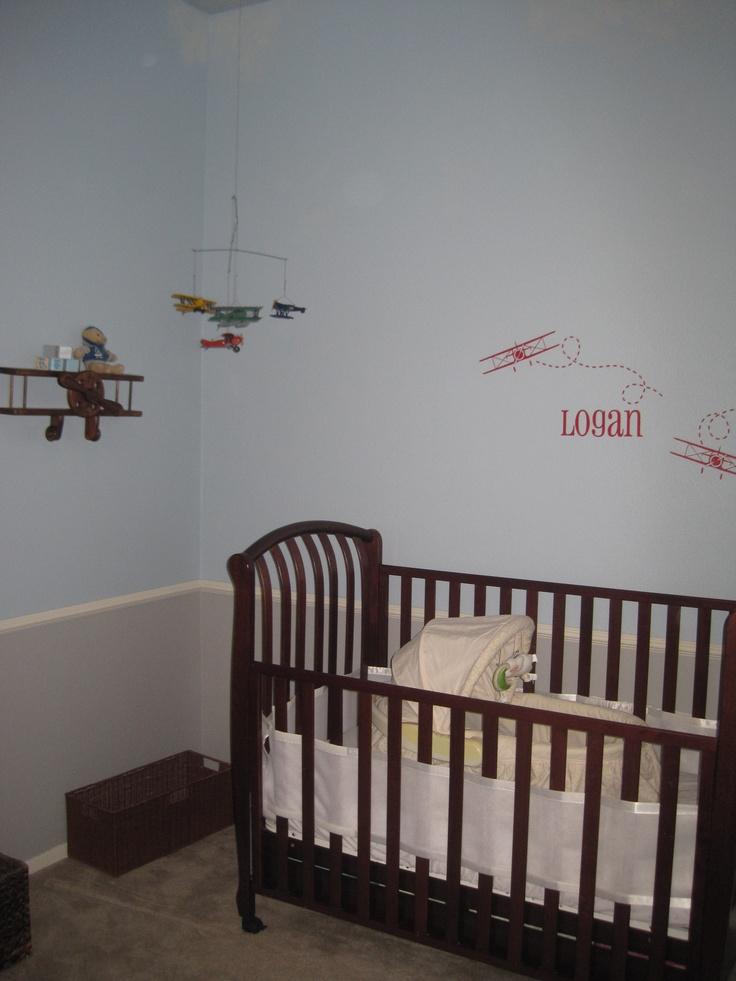 crib, mobile, wall decal