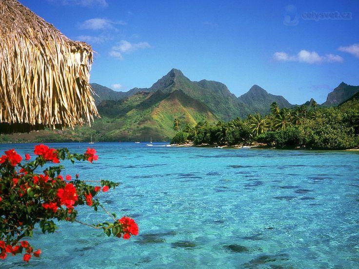Bora Bora Tahiti | ... Polynésie / Tranquil Lagoon, Bora Bora Island, French Polynesia