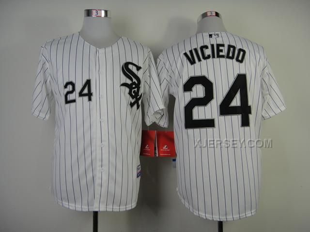 http://www.xjersey.com/white-sox-24-viciedo-white-cool-base-jerseys.html WHITE SOX 24 VICIEDO WHITE COOL BASE JERSEYS Only $34.00 , Free Shipping!
