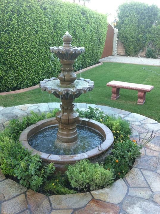REPLICATE FLAGSTONE AND GRASS COMBO WITH FOUNTAIN TRANSITION // Our core vision is to personalize the project experience for you, our customer, and create a finished outdoor environment of which you can be proud. We are as passionate about your space as you are. While still working within your budget, we will never compromise on the quality design, materials or construction.#PalmSprings #Watershaping #Waterscaping #Landscaping #sculpture