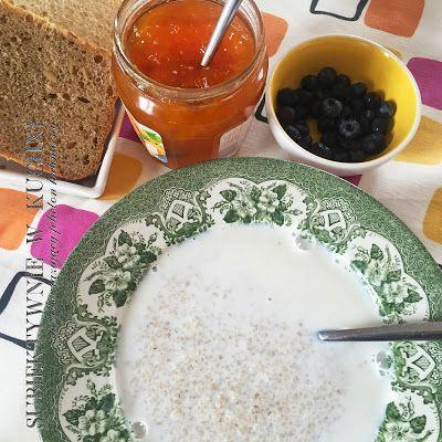subiektywnie w kuchni: Śniadanie: zupa mleczna z kaszą jęczmienną