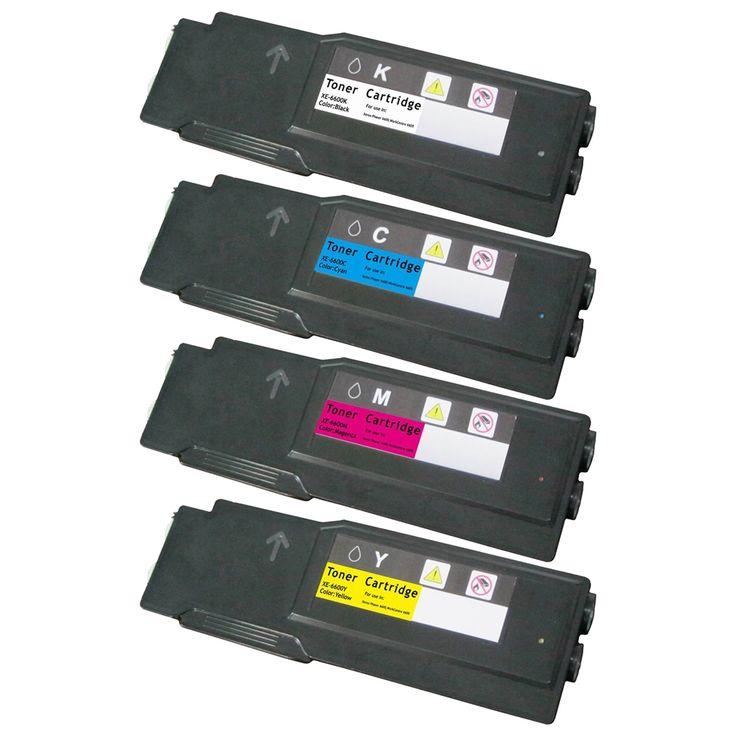 4 Toner Cartridge Compatible Xerox 106r02228 106r02227 106r02226