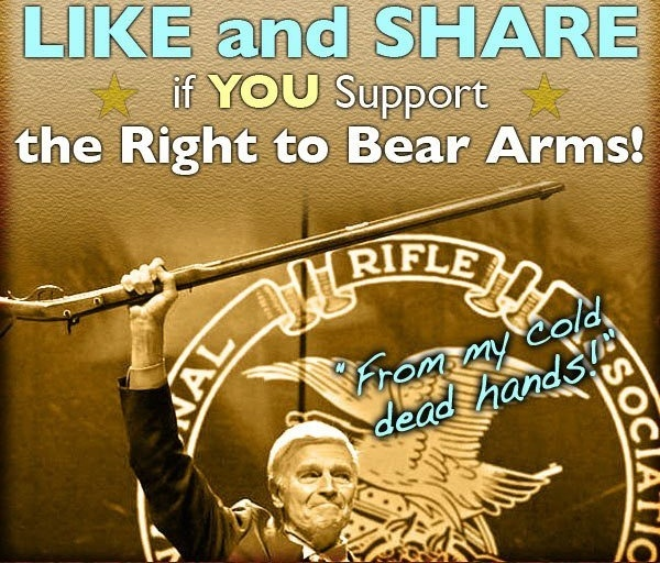 Hot Dogs & Guns: Like and Share if You Support The Right To Bear Arms