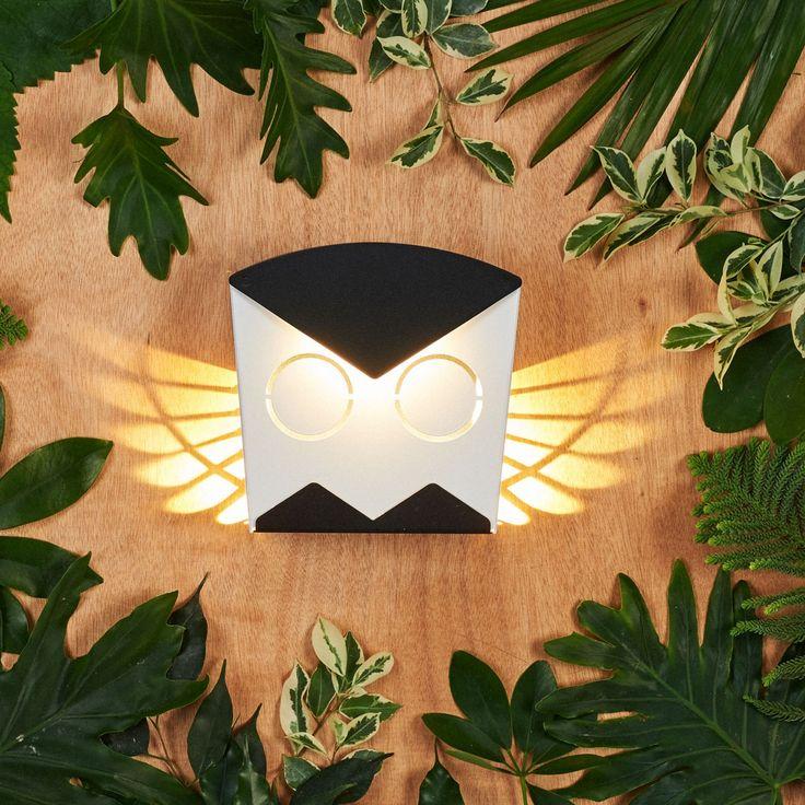 Owl LED-Leuchte - Schwarz   Popup Lighting